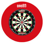 Протектор Deluxe One80 Dartboard Surround red