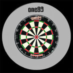 Протектор Deluxe One80 Dartboard Surround white